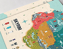 SKYRIM Infographic