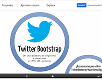 Twitter Bootstrap - Conferencia - Taller