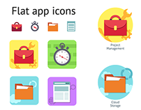 App icons for web studio