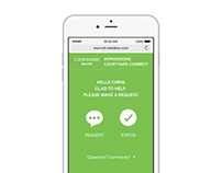 Courtyard Meeting Services App