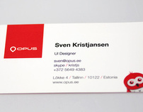 Opus business cards
