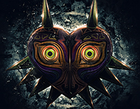 Legend of Zelda Epic Majora's Mask Poster