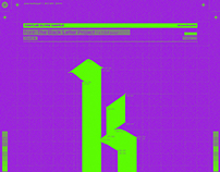 K-Letter Typeface
