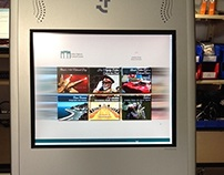 16 page Touchscreen Website (Kiosk) for Embassy of Oman