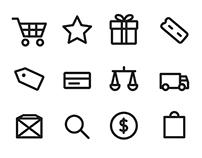 E commerce Icons