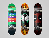 Skateboard Deck Designs