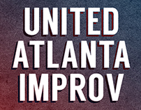 Event Posters: United Atlanta Improv