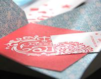 Invitation // Wedding Stationary for Karsten & Carola