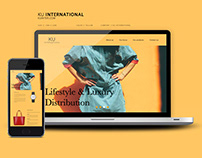 KU International website