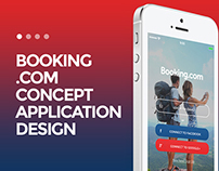 Booking.com Concept App Design