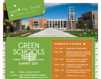 2011 Green Schools Flyer Design