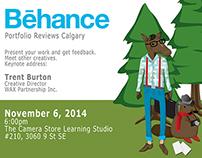 Calgary Behance 2014 Portfolio Reviews
