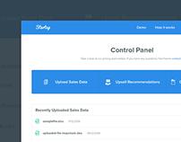 Control Panel UX/UI
