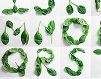 Spinach Alphabet