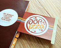 Pop Up Pizza Menu Book