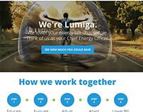 Lumiga - Energy Savings Website