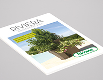 Conception et réalisation du catalogue Riviera