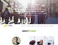 Citrus - Creative One Page Multi-Purpose Theme