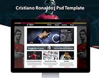 Template PSD  |  Cristiano Ronaldo
