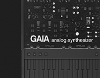 GAIA analog synthesizer