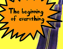 Book cover - The beginning of everything