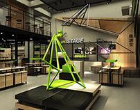 brand image store design X Cheer4