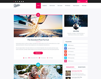 Scratch - Premium Responsive HTML Blog Template