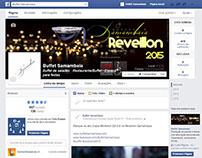 Marketing social - Facebook Ads - Reveillon 2015