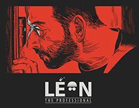 Leon poster design