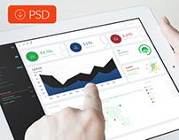 Wody - PSD Dashboard / Webapp Template