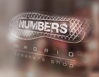 Numbers Sneakers - Identidad Corporativa