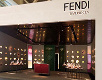 FENDI Timepieces Baselworld Booth 2014