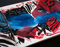 Oil Pastel Surface Patterns
