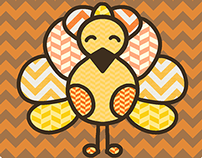 Fall Stitches - Thanksgiving