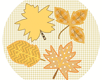 Fall Stitches - Leaves