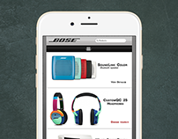 Bose Mobile App re-design (Concept) Iphone 6