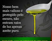 anúncio azeite Gallo