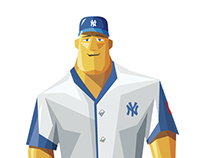 Personaje Videogame Baseball
