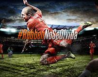 #RobbenNoSeOlvida