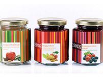 CSIKOS - an artisan jam-family - Branding