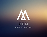 RPM Management Logo Identity
