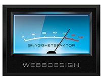VU-meter for WEB design