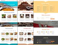 Restaurant Theme UI/UX