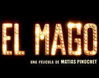 Afiches y  créditos película El Mago