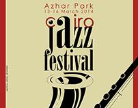 Cairo Jazz Festival Poster