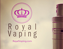 RoyalVaping Social Media iOS Only Images on Photoshop