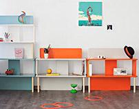 Stac / Modular Bookcase