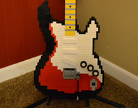 Legocaster Guitar