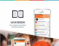 Eddiary App Ui design  Tecort Innovations