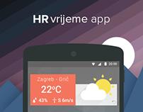 HR vijeme app